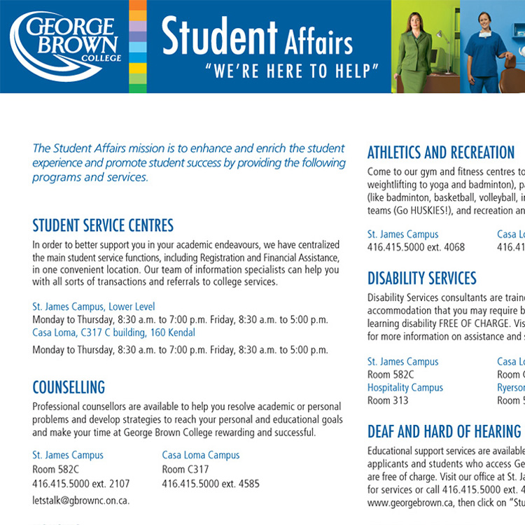 George Brown College — Branded Resources