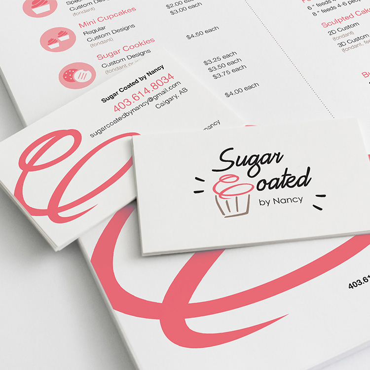 Sugar Coated by Nancy — Brand Identity